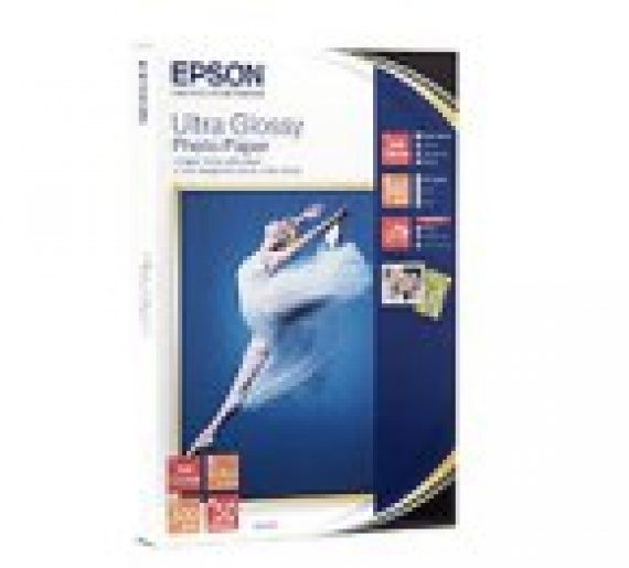 Бумага/карточки Epson (C13S041943BH) Ultra Glossy Photo Paper, (100x150мм) 50 лист.глян. 300 гр/м2